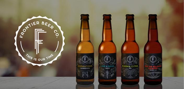 Frontier Beer Co - range